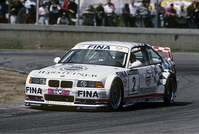 Гоночное такси BMW