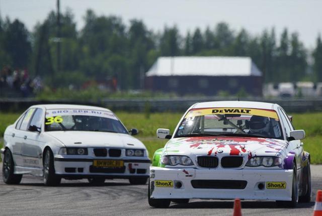 за рулем BMW M3